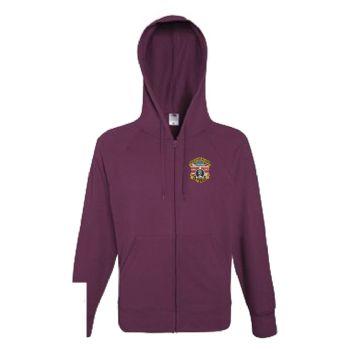 Northern Ireland Zipped Hoodie